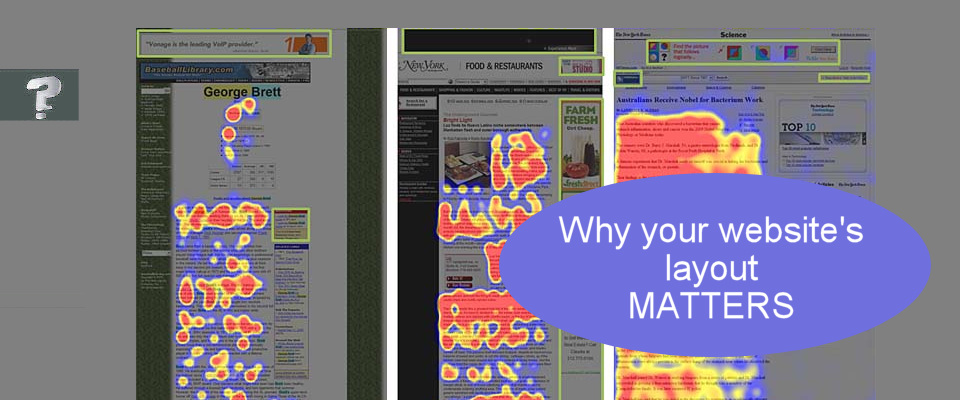 Why your website layout matters