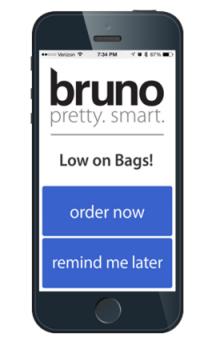 Bruno the smart garabage can