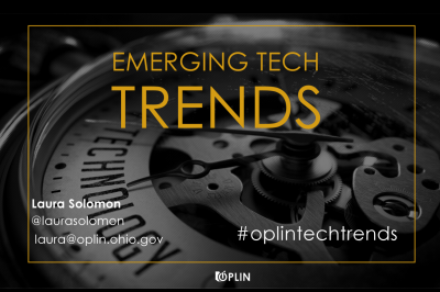 Emerging Tech Trends Spring 2017